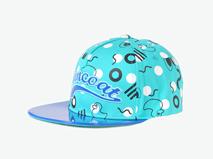 凯维帽业-可爱卡通眼睛平板帽RT474