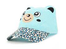 凯维帽业-儿童猫咪熊猫棒球帽定做RZ184