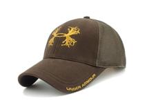 凯维帽业-纯色网眼透气六页绣花棒球帽BM304