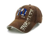 凯维帽业-纯色贴布绣花印花混搭六页棒球帽BM305