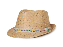 凯维帽业-时尚潮流春夏遮阳时装定型草帽RZ350