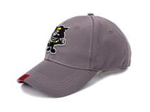 凯维帽业-纯色灰太狼绣花棒球帽 BM332