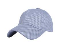 凯维帽业-蜂窝状纯色简约六页棒球帽 BM333