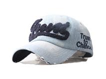 凯维帽业-LOGO时装牛仔棒球帽BM337