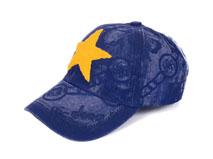 凯维帽业-牛仔时装六页棒球帽加工订制BM343