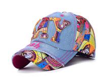 凯维帽业-2015新款牛仔时装棒球帽BM347