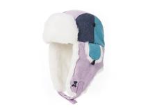凯维帽业-简约可爱色调拼接雷锋帽定做LF031