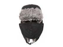 凯维帽业-时尚简约男孩口罩风雪帽定做LF036