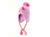 黑白视频体育直播-可爱女童冬季针织帽定做ZM082