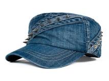 凯维帽业-韩版时尚潮流柳字钉超酷平顶帽 JT078