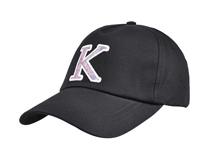 凯维帽业-简约男女款贴布包边绣花棒球帽BM373