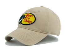 凯维帽业-简约浅色贴布绣花棒球帽BM379