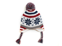 凯维帽业-儿童英伦风格针织帽定做 ZM095