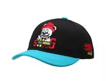 凯维帽业-可爱卡通绣花男孩棒球帽定做RM560