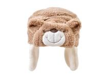 黑白视频体育直播-可爱小熊加绒儿童帽定制RM566