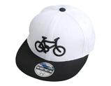 凯维帽业-自行车3D绣花儿童平板帽定制RT476