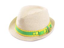 凯维帽业-儿童小清新款定型草帽RZ353